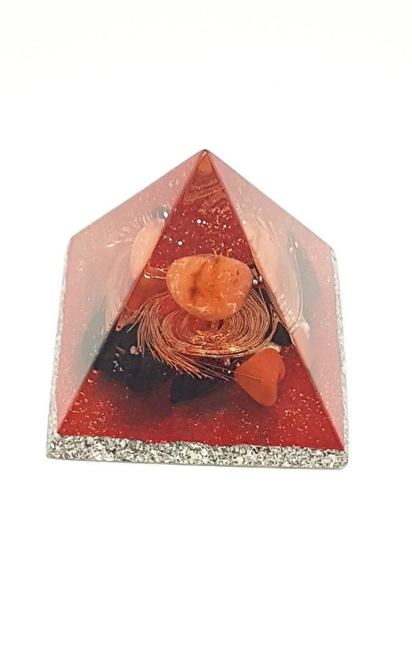 Orgonite Pirâmide 3