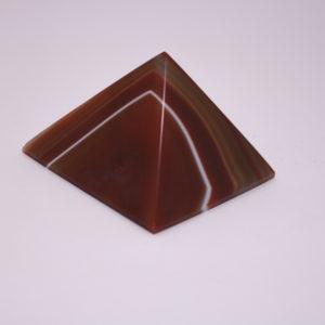 Pirâmide de Ágata Vermelha