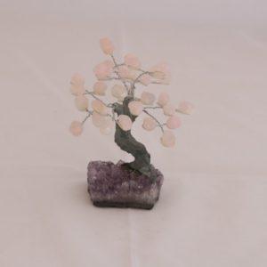 Árvore pequena Quartzo Rosa