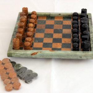 Jogo de xadrez Pedra Sabão