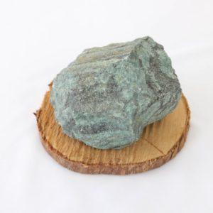 Pedra bruta Quartzo Verde Cobra