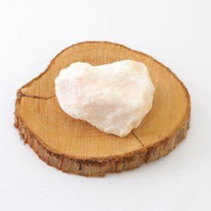 Pedra bruta Selenita Laranja