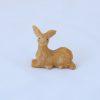 Escultura cervo miniatura Jaspe Verde Abacate 1