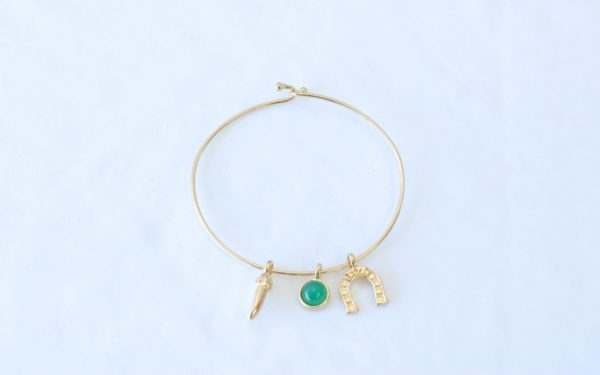 Pulseira bracelete Ágata Verde 3