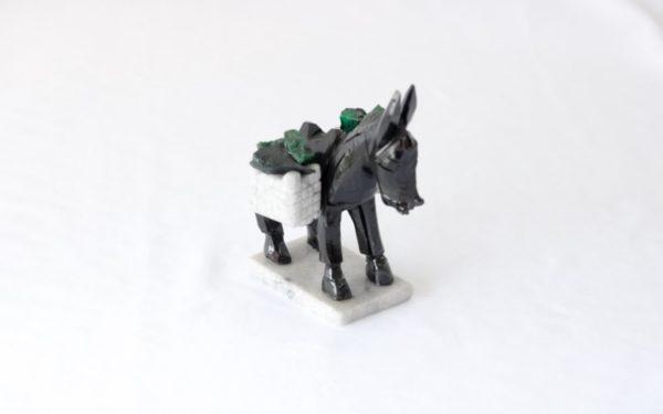 Escultura cavalo de Xisto de Esmeralda 3