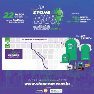 2ª Stone Run acontecerá dia 22 de Março de 2020 - Participe 3